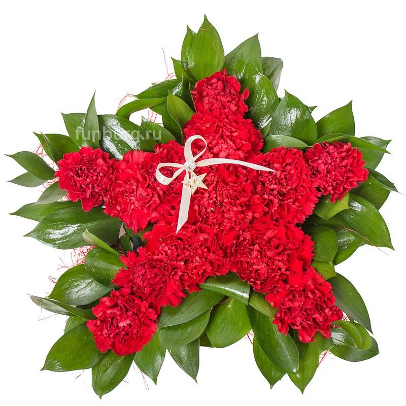 Композиция из цветов «День Победы»