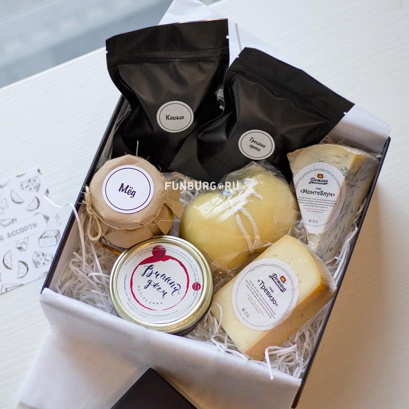 Подарочный набор «Сырный сомелье» (малый) фото