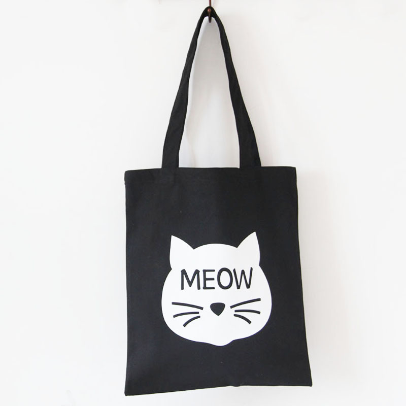 Тканевая сумка «Meow» фото