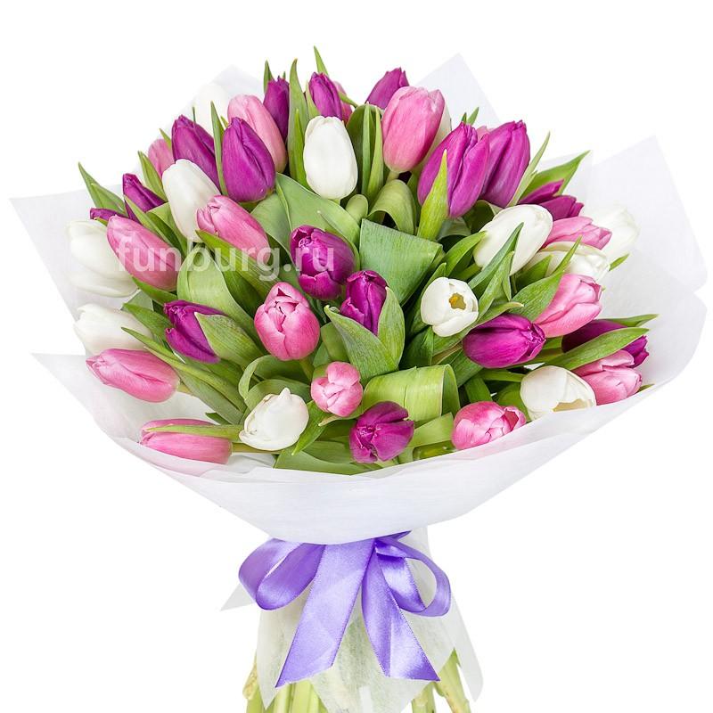 Букет тюльпанов «Неаполь»