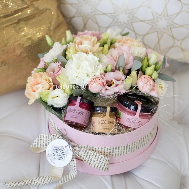 Купить Композиция в коробке «Вальс цветов»