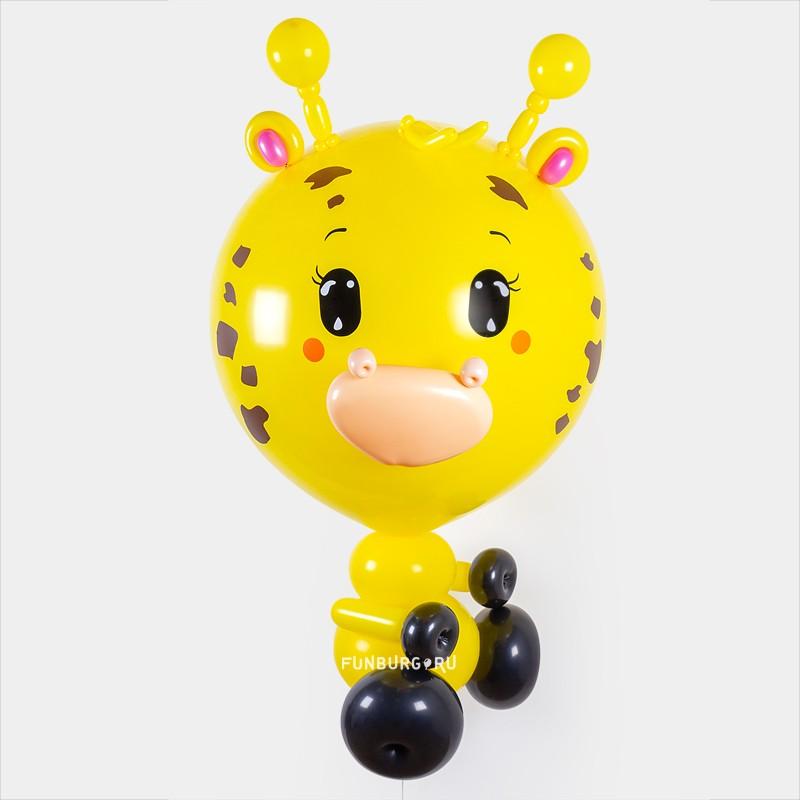 Фигура «Метровый шар Жираф» фото