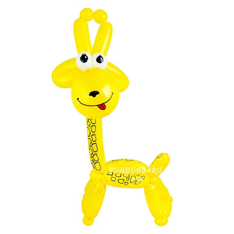 Фигура из шаров «Жирафик»С животными<br><br> Высота:<br><br><br> 50-60 см<br><br><br> Производство:<br><br><br> Funburg.ru<br><br>