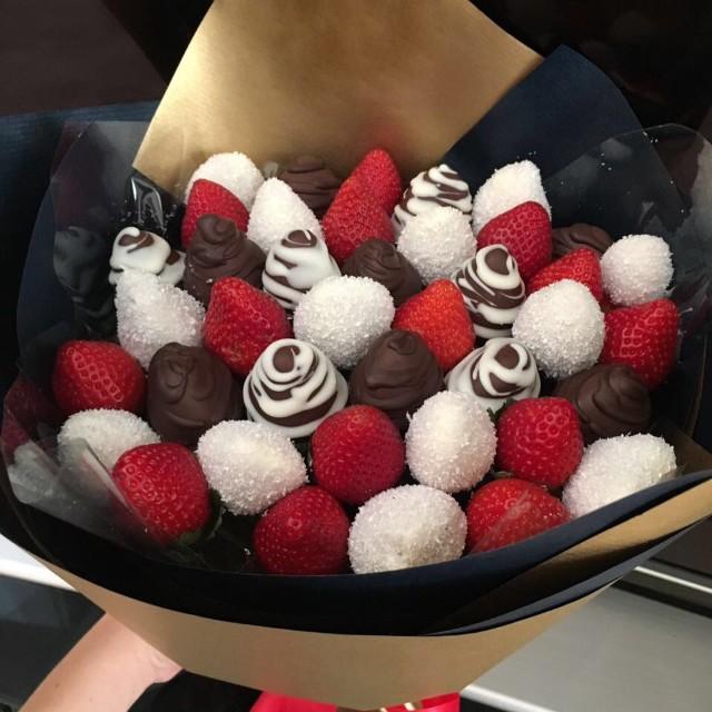 Купить Букет из клубники в шоколаде №2