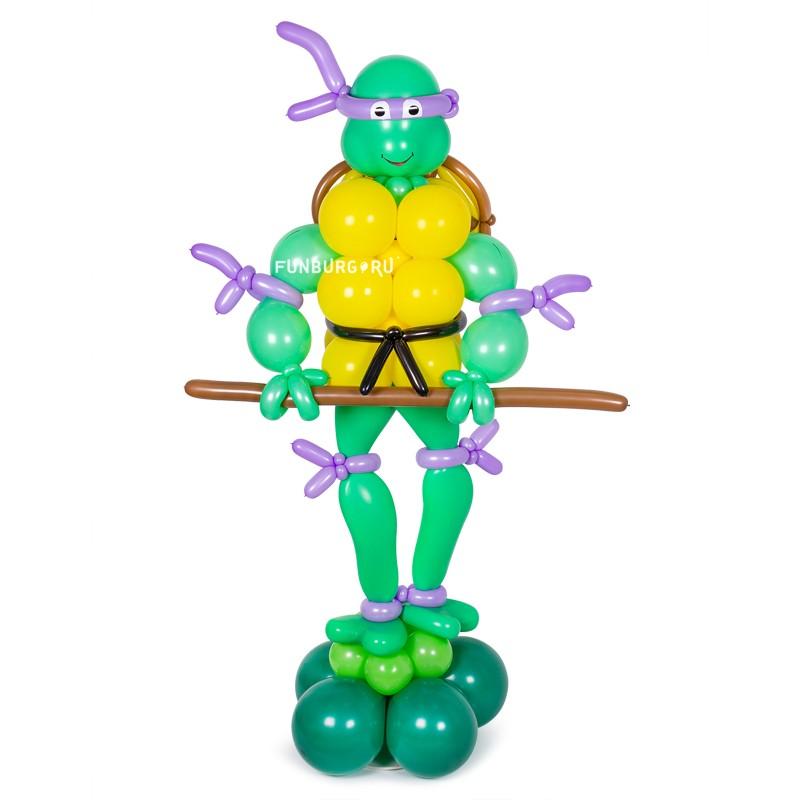 Купить Фигура из шаров «Донателло» (Черепашки-ниндзя)