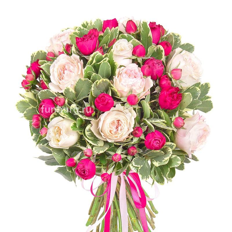 Букет «Розовое шампанское»Европейская флористика<br><br>