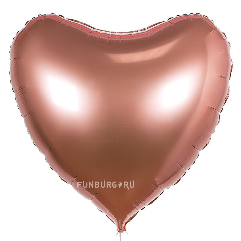 Шар из фольги «Большое сердце» 36