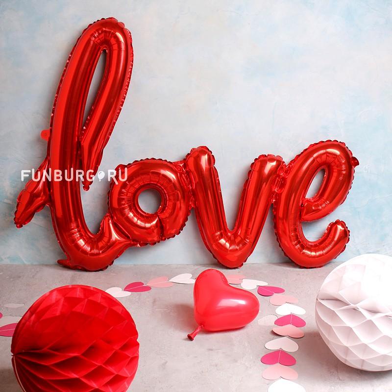 Шар из фольги «Love»День святого Валентина<br><br> Ширина элемента:<br><br><br> 75 см<br><br>