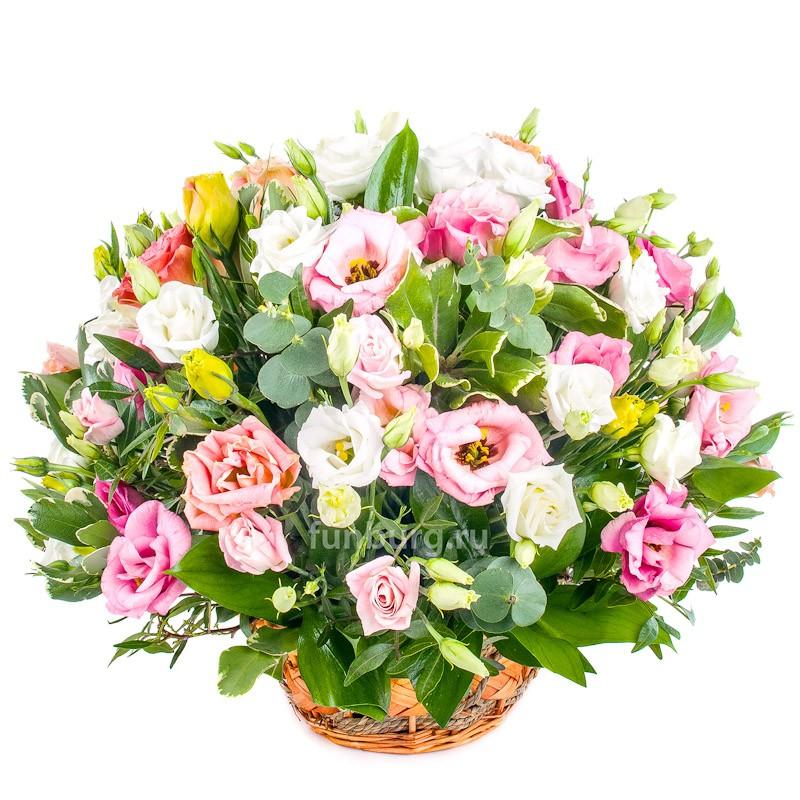 Корзина цветов «Утро в Венеции»