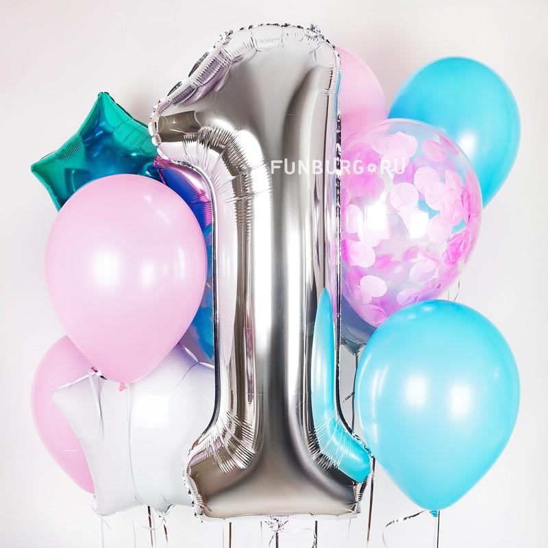 Набор шаров «Звездный день рождения»Наборы шаров<br><br> Вы можете корректировать количество шаров в наборе по своему желанию.<br><br> <br>