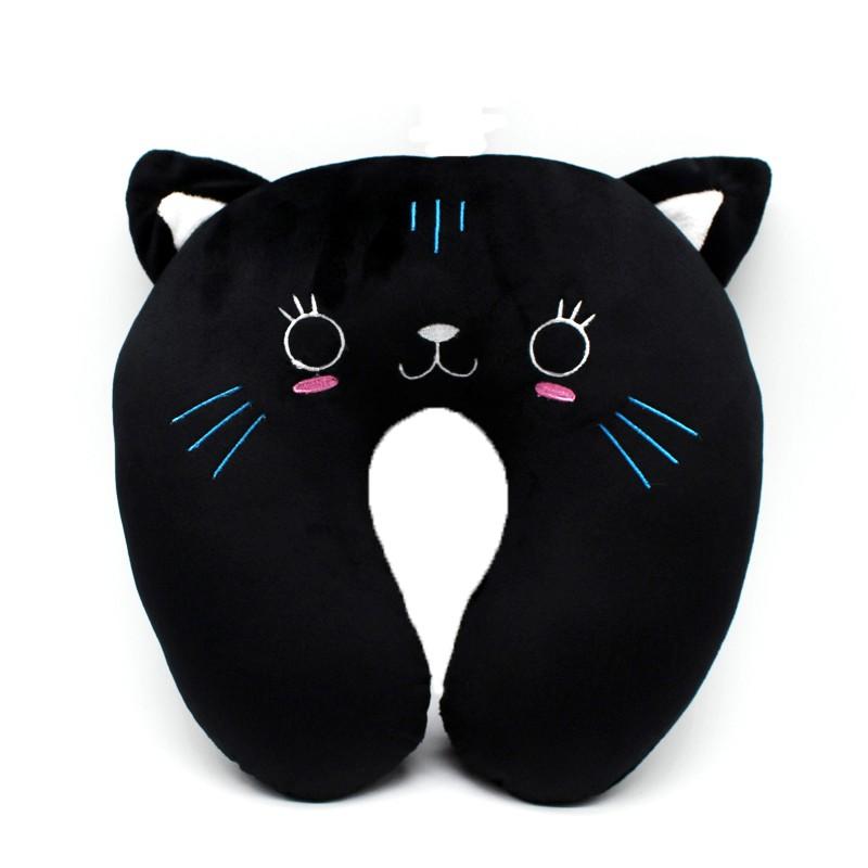 Подушка под шею «Котик» фото