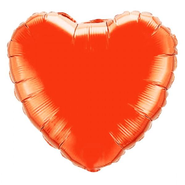 Шар из фольги «Большое красное сердце»Из фольги без рисунка<br>Размер: 81 см (32)<br>Производитель: Flexmetal, Испания<br>