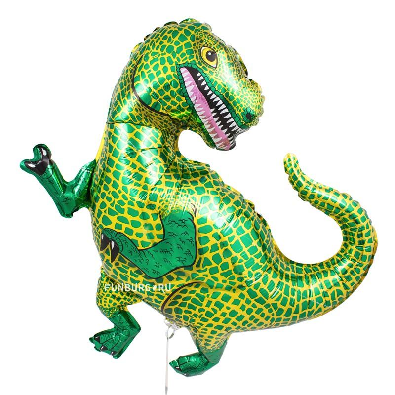 Шарик из фольги «Динозавр Тираннозавр» фото