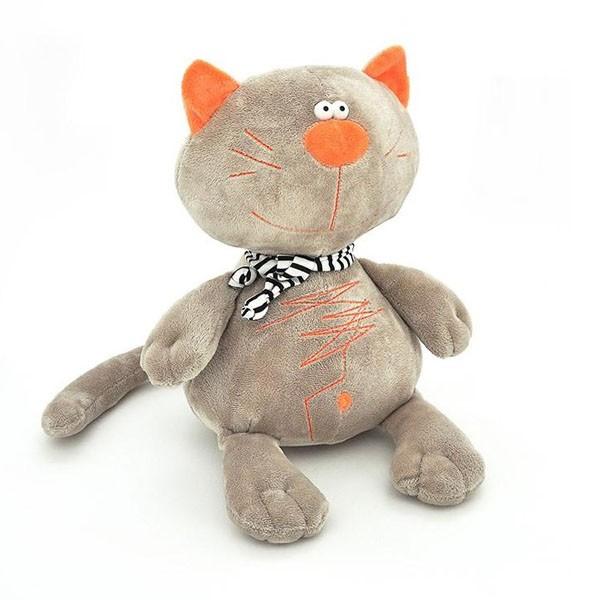 Мягкая игрушка «Серый кот Батон» фото