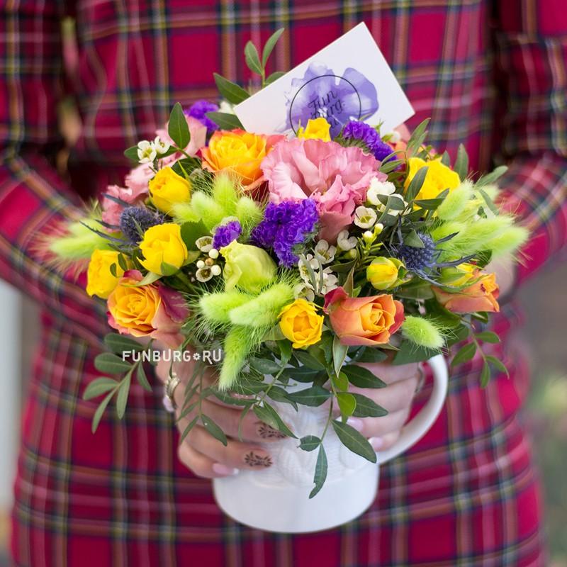 Купить Композиция «Цветущий сад»