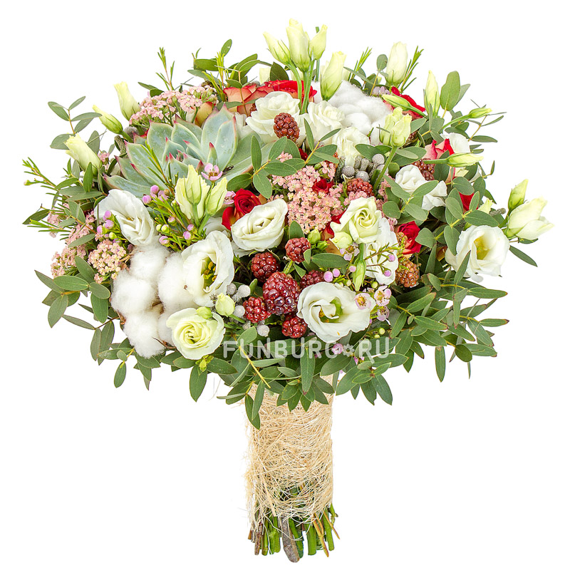 Букет невесты «Цветочная поляна»