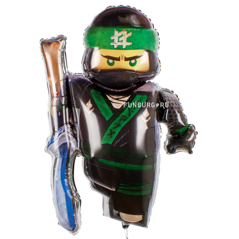 Купить Шарик из фольги «Лего Ниндзяго»