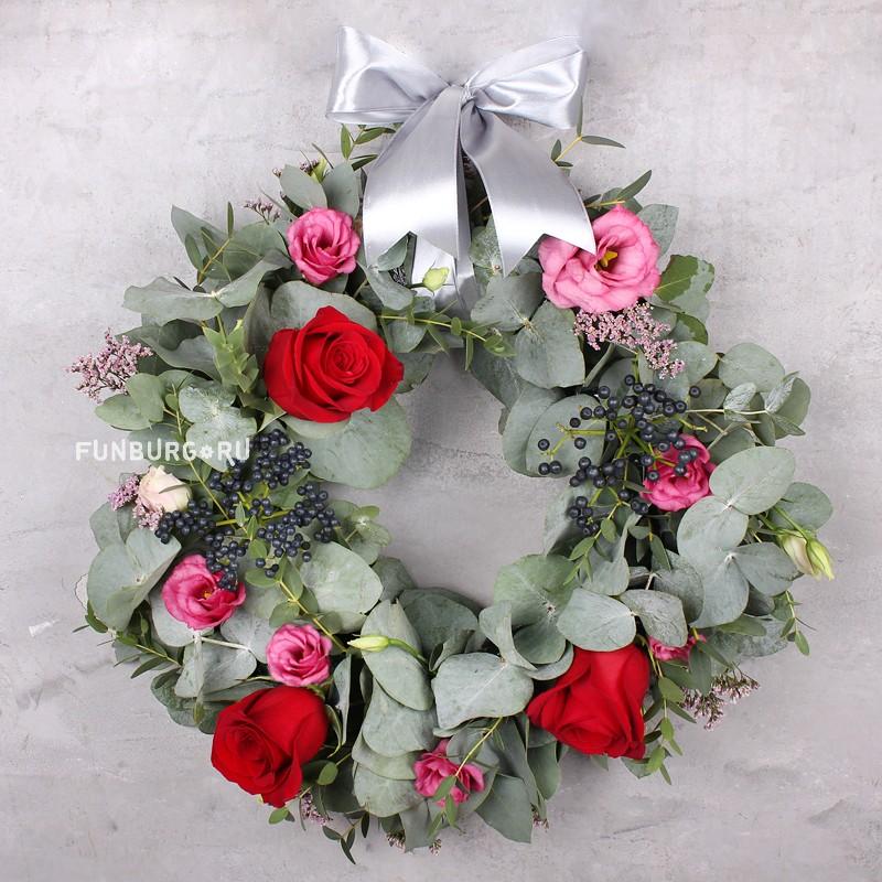 Купить Новогодний венок «Свежий аромат»