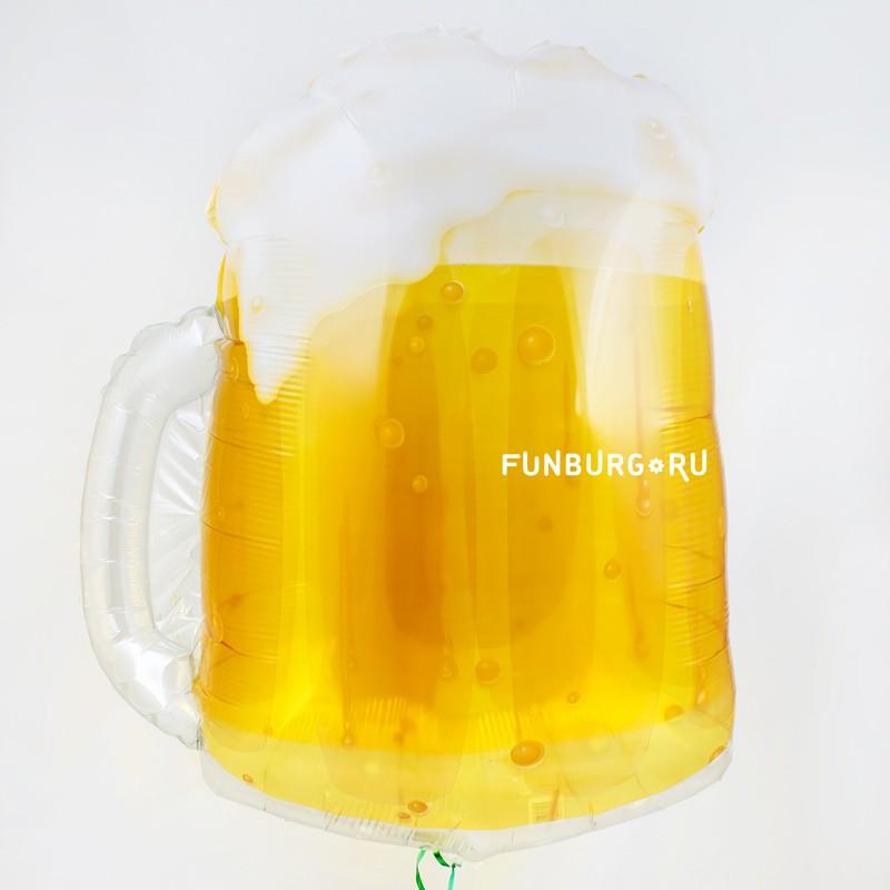 Шар из фольги «Кружка с пивом» фото
