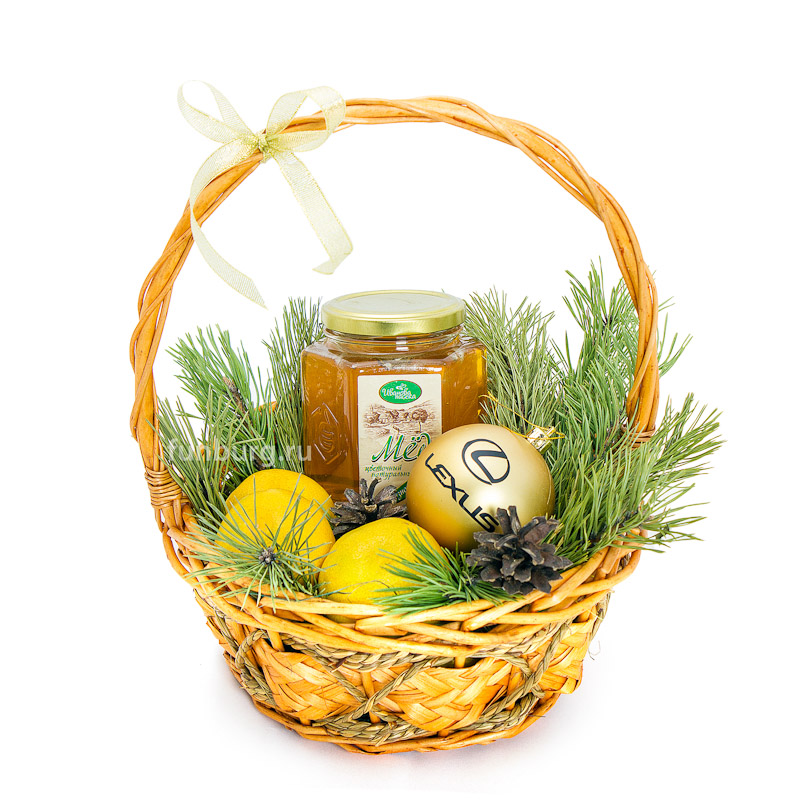 Купить Подарочная корзина «Здоровья в Новом году» №3