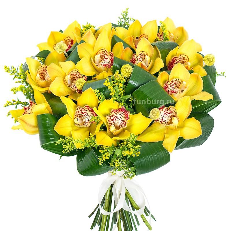 Букет орхидей «Таиланд»