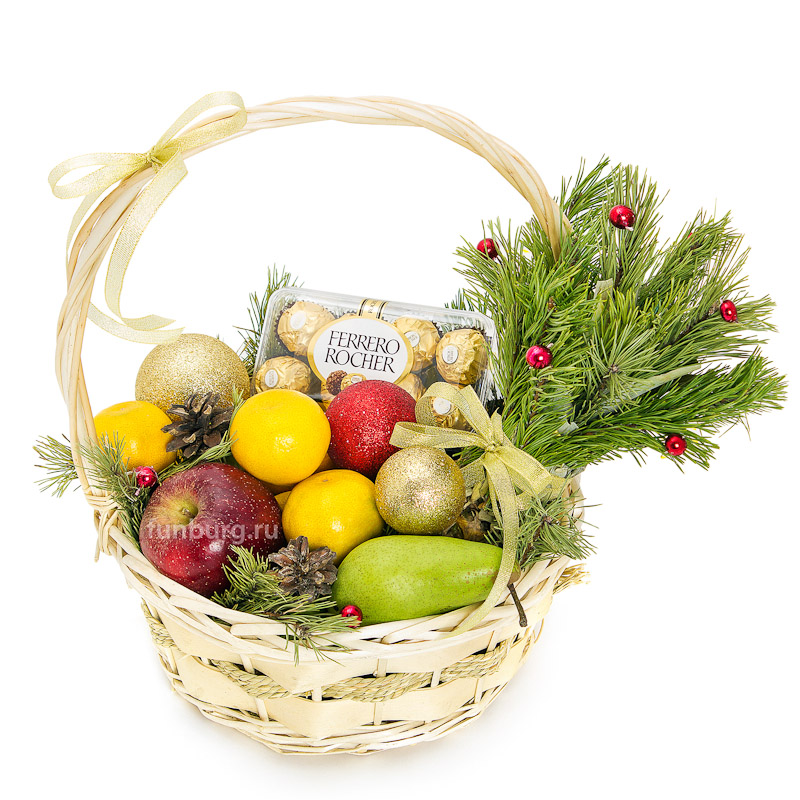 Купить Подарочная корзина «Витаминная»
