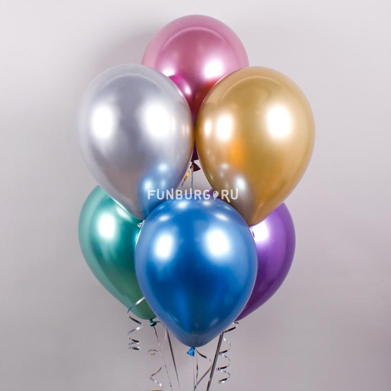Воздушные шары «Chrome» фото
