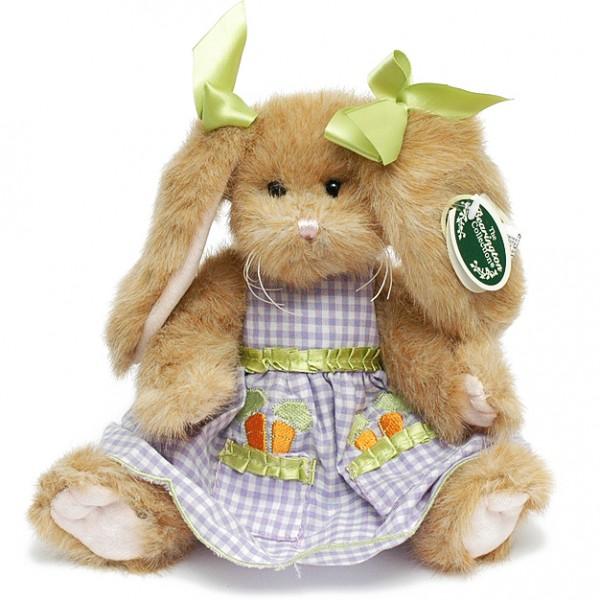 Мягкая игрушка Bearington «Зайка в клетчатом платье»Bearington<br> <br>Размер:<br><br><br>высота 25 см<br><br> <br>Бренд:<br><br><br>Bearington<br><br>