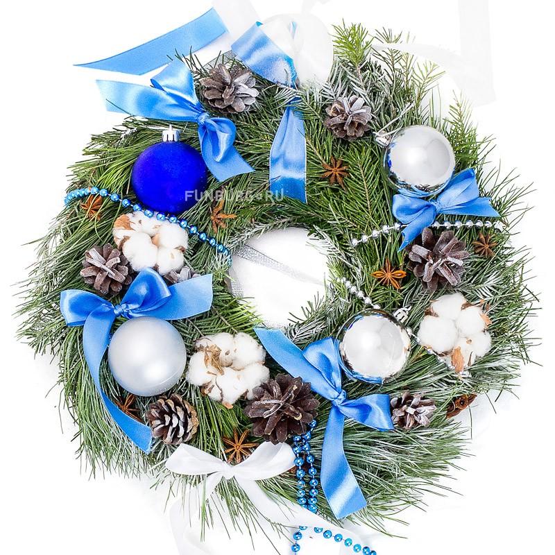 Купить Венок «Счастливого Рождества»