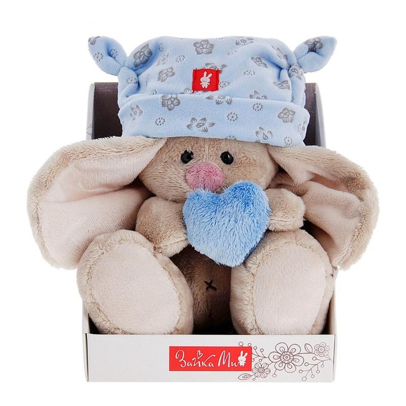 Мягкая игрушка «Зайка Ми в голубой пижаме»Зайка Ми<br> <br>Размер:<br><br><br>высота 15 см<br><br> <br>Бренд:<br><br><br>Зайка Ми<br><br>