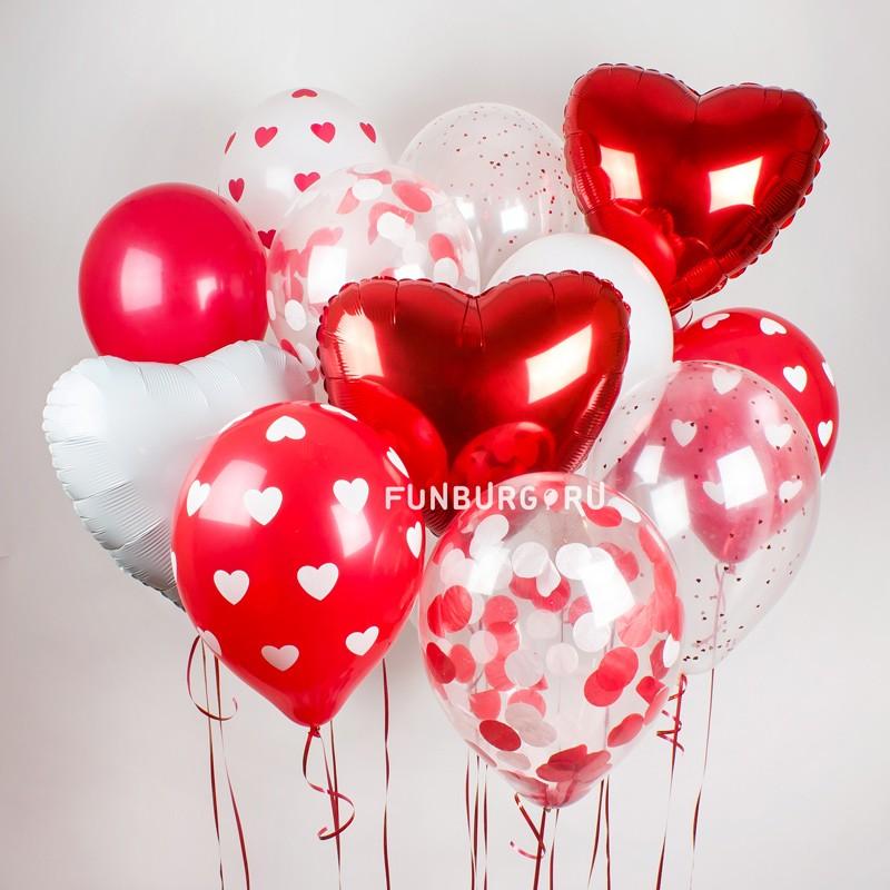 Купить Набор шаров «Любовь»