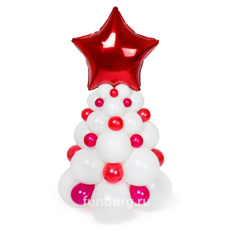 Фигура из шаров «Новогодняя ель»