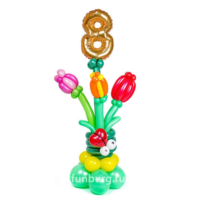 Купить Фигура из шаров «8 Марта»