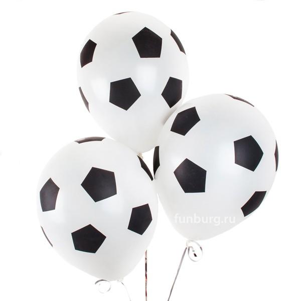 Воздушные шары «Футбольные мячи» фото