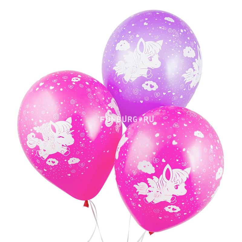 Воздушные шары «Пони» фото