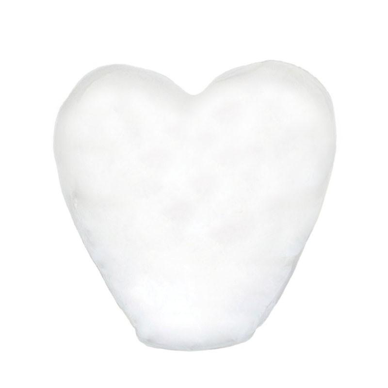 Небесный фонарик «Белое сердце»Небесные фонарики<br>Размер: 40*95*100 см<br>Время полета: 12-15 минут<br>Высота полета: 800 - 1000 метров<br>