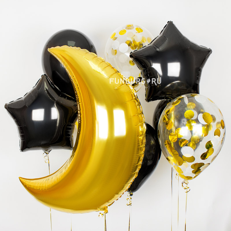 Набор шаров «Чарующая ночь»Наборы шаров<br><br>Вы можете корректировать количество шаров в наборе по своему желанию.<br><br>
