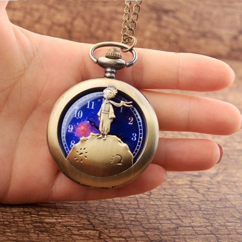 Часы на цепочке «Маленький принц» фото