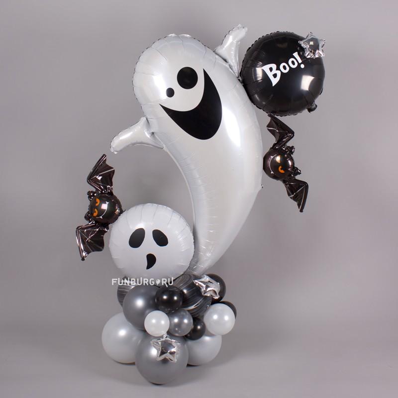 Фигура из шаров «Привидение» фото