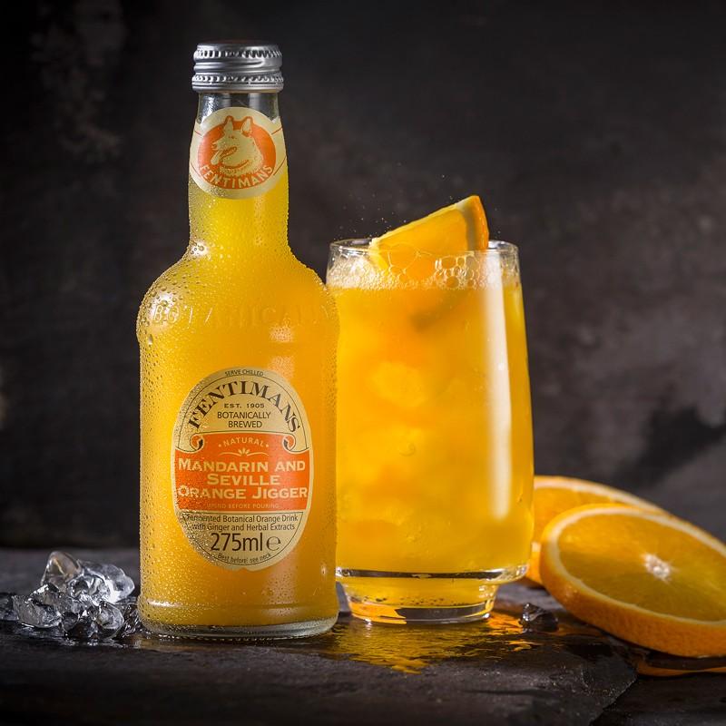 Лимонад Fentimans «Мандарин и севильский апельсин» фото