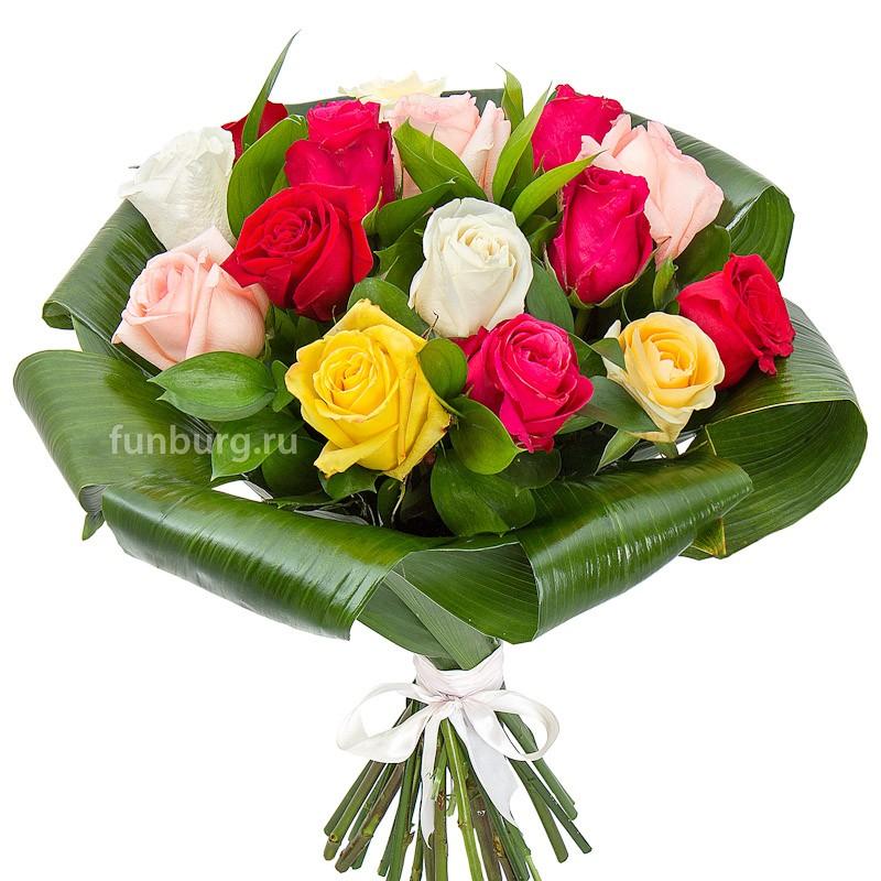 Букет «Розы ассорти» фото
