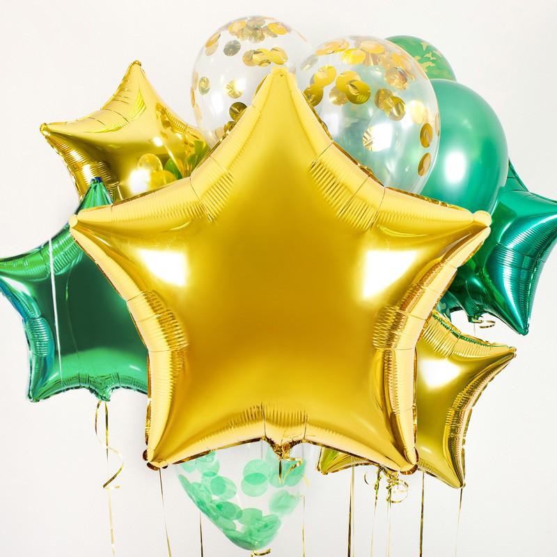 Набор шаров «Большая звезда» фото