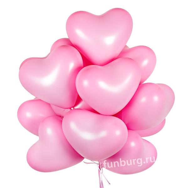Спецпредложение! «9 сердец к букету цветов» фото