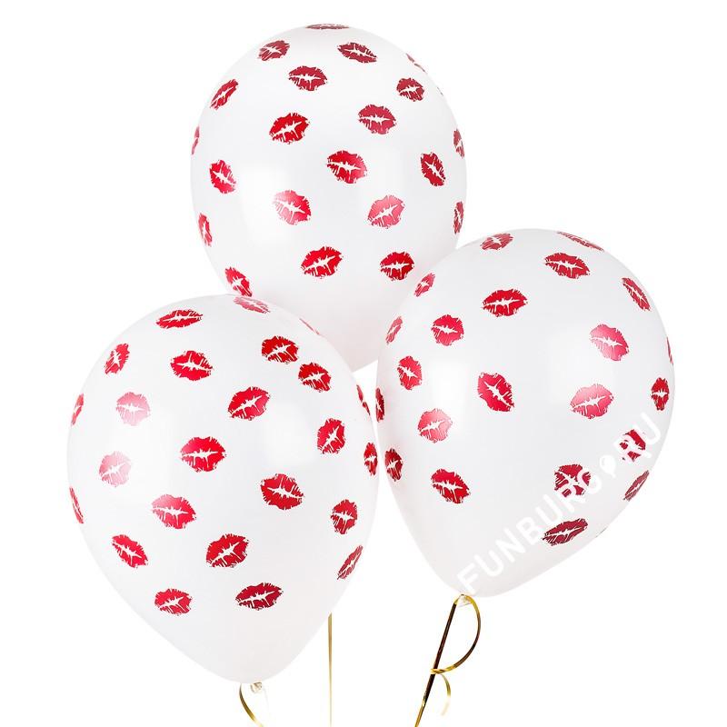 Воздушные шары «Поцелуи» фото