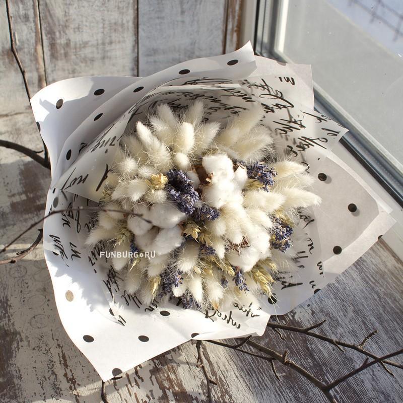 Купить Букет из сухоцветов «Пробуждение»
