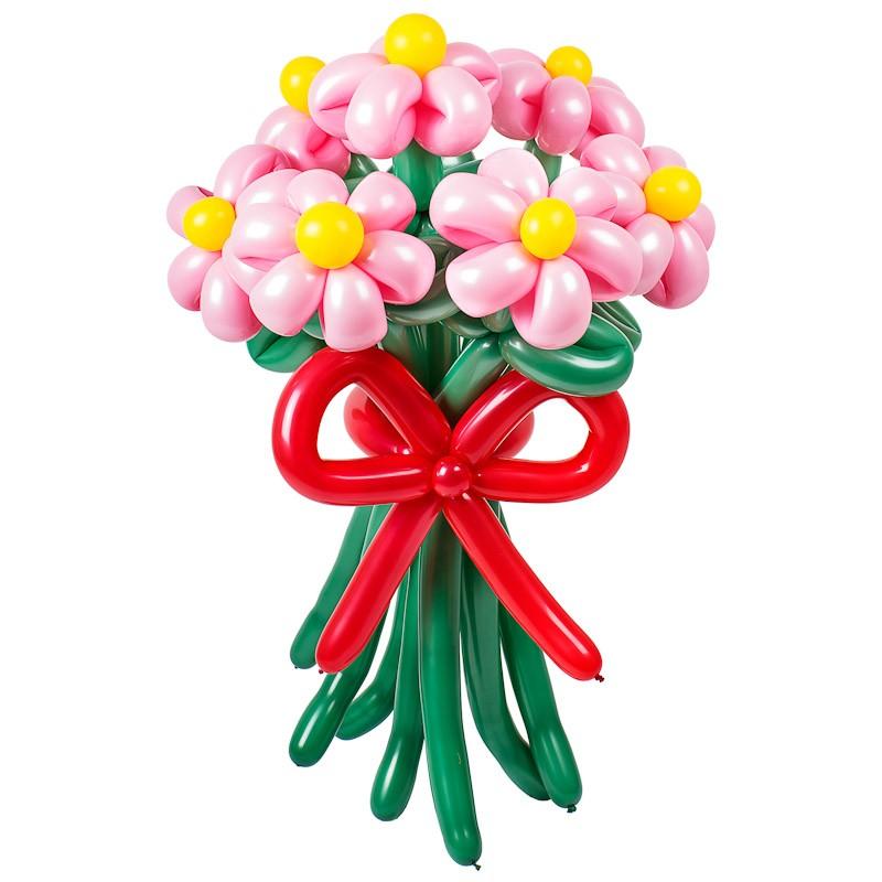 Купить Фигура из шаров «Букет маргариток»
