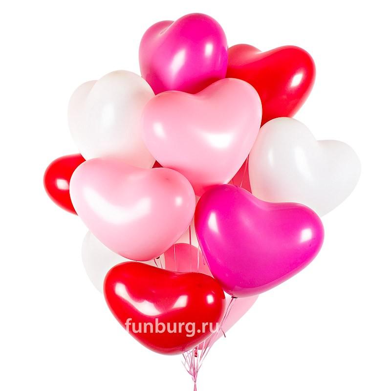 Букет шаров «Любовь без границ» фото