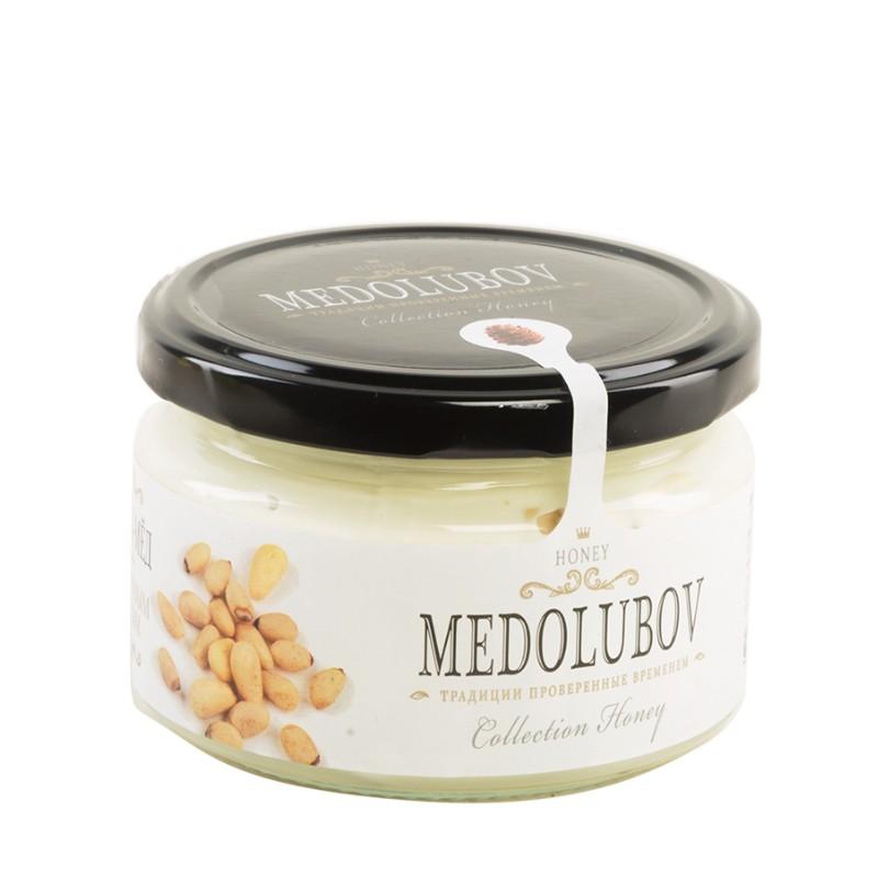 Крем-мед Медолюбов «С кедровыми орехами» фото