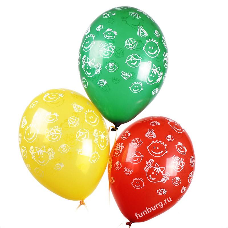 Воздушные шары «Детские улыбки» фото