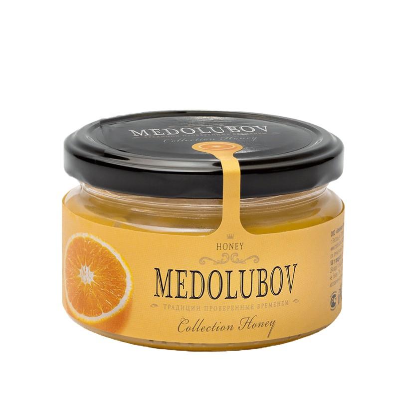Купить Крем-мёд Медолюбов «Апельсин»